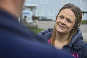 Marlene Ljung tycker det är kul att Alfta GIF handboll rönt så stora framgångar.