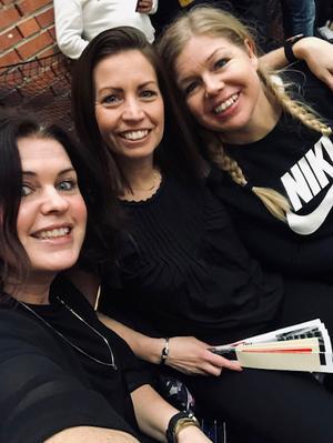 Sofia Verpers, Sofia Hassona och Jessica Windahl.