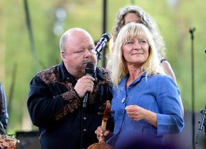 Lena Willemark är folkmusiker från Älvdalens kommun. Arkivbild.