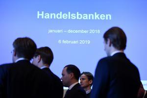Handelsbanken blev  den sista, bank i Kramfors där du kunnat hämta och sätta in pengar. Foto: TT