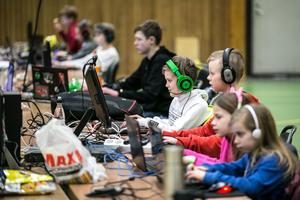 100 ungdomar deltog i helgens LAN på Lugnet i Falun.