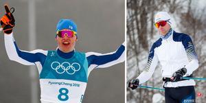 Iivo Niskanen och Daniel Richardsson. Foto: AP Photo/Matthias Schrader och Christine Olsson/TT