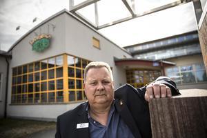 Göran Törnqvist, rektor på Lorensberga skola i Ludvika.