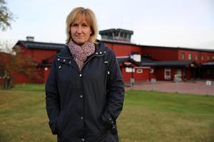 Anna Hed, kommunstyrelsens ordförande (C) Mora.Arkivbild.