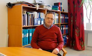 Bo Markusson hoppas på ett bibliotek i Ljustorp.