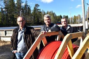 Ulf Rask, Magnus Sjöström och Leif Pettersson anser att Zitius inte håller vad de har lovat.
