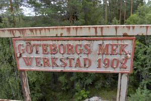Järnvägsbron över Storstupet är 117 år.