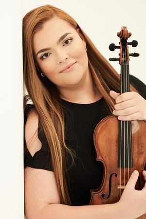 Ellinor d'Melon är ett fynd som Gävle Symfoniorkesters chefdirigent Jaime Martín har hittat. Bild: Kaupo Kikkas
