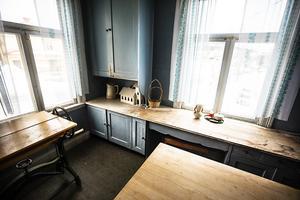 Köket på våning två.