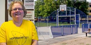 Anne Persson ser fram emot att bygget av arenorna startar.