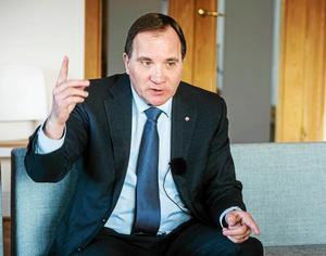 Stefan Löfven gav sig in i debatten kring Sollefteå sjukhus denna dag för ett år sedan.