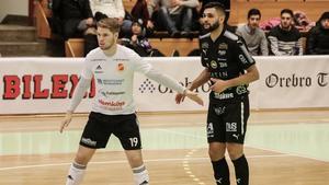 Senad Berisha gjorde sex mål när Örebro FC vann mot Norrköping Futsal Klubb.