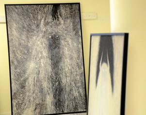 Utmanande. Änglar med horn har inget med ondska att göra framhåller konstnären Pär Westling som snarare vill ge betraktaren något att tänka på.