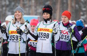Prinsessan Sofia på startlinjen utanför Oxberg på lördagen. Foto: Henrik Hansson