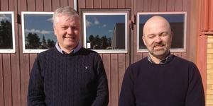 På bilden ser vi Mikael Grinde, produktionschef, och Robert Dahlberg, vd vid Dahlberg och Grinde.  Foto: Pressbild.