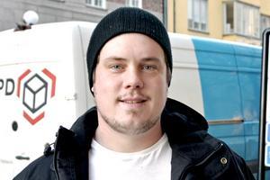 Jonny Fernlund, 29 år, snickare, Långskog:
