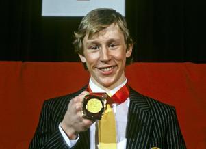 Gunde Svan med första OS-guldet.