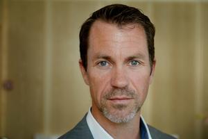Per Geijer är säkerhetschef på Svensk handel. Bild: TT
