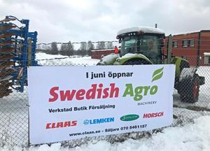 Företaget öppnar anläggningen i Borlänge om några månader. Foto: Swedish Agro Machinery