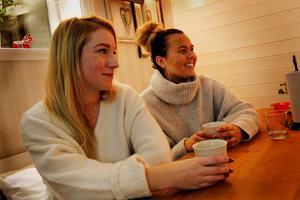 Elin och Rebecca började engagera sig i kvinnojouren efter ett utbildningstillfälle 2017.