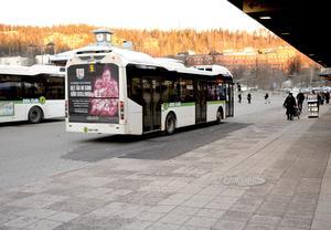 Bussreklamen i länet kommer de kommande åren att säljas av Umeåföretaget Nalta Media.