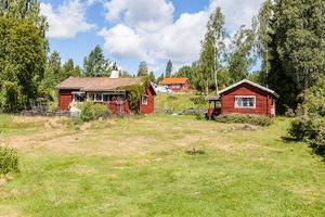 Ett fritidshus i Rog/Bjursås, Falu kommun, kom på sjunde plats på Dalarnas Klicktoppen förra veckan. Foto: Christoffer Cederberg