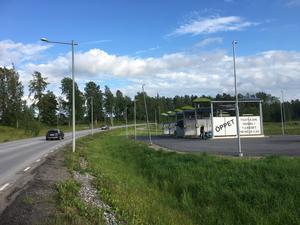 En biltvätt liknande denna i Örebro ska  också byggas i Säter.