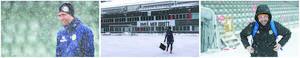 Våren blev snöigt stökig för GIF. Bild: Andreas Lidén