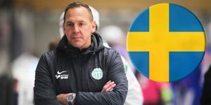 Michael Carlsson, tränare för Västerås SK till vardags men också förbundskapten för Sveriges herrlandslag.