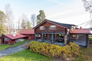 Denna villa, med sjötomt, i Sundborn i Falu kommun, var den sjätte mest klickade dalafastigheten under vecka 44.