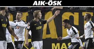 Filip Rogic räddade en poäng när ÖSK förändrade matchbilden totalt mot AIK på Friends arena. I den andra halvleken var det ÖSK som gick för segern.