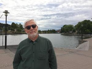Ordförande i Södertälje Jazz & Bluesförening, Lasse Jansson, ser fram emot picknicken på lördag: