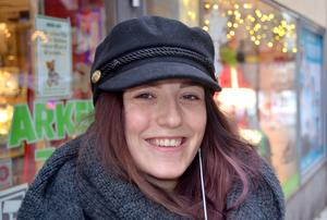 Hannah Vau, 22 år, studerande, Sundsvall: