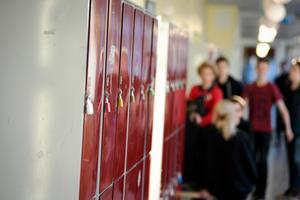 Skolor med avskalade ytor, god akustik och utrymmen för återhämtning är sådant som gör gott för elever med autism.  Foto: Pontus Lundahl/TT