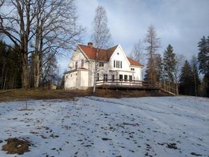 Ny debatt på gång i Idkerberget; Vad händer med disponentvillan? Foto: Privat