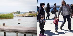 Om det i framtiden kommer båtflyktingar till skärgården utanför Nynäshamn, måste Nynäshamns kommun veta hur den situationen ska hanteras.