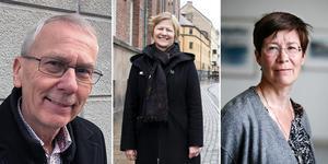 Börje Ström (L), Beryl Lunder och Birgitta Johansen var några av de som pratade om kultursamverkans effekter på kulturlivet i Örebro län.