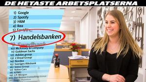 24-åriga Tove Tjernström jobbade timme på Handelsbanken parallellt med sina civilekonomstudier på Örebro universitet. En fredag i juni i fjol var studierna klar – och måndagen därpå fick hon fast jobb på banken.