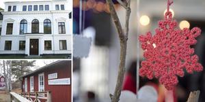 Arbottnas Drömgården på Muskö och Torö hembygdsgård och lanthandel är några av de ställen där det ordnas julmarknad i helgen. Foto: Jenny Folkesson och Helene Skoglund/NP