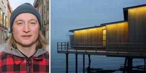 Kanske kan Båstads kallbadhus fungera som inspiration för centrumutvecklaren Calle Hedman.