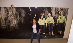 """Under Dalarnas största företagarfest Stjärngalan i Borlänge 25 januari ska Jenny Gotthardsson tala under rubriken """"Med mod in i framtiden"""" ska hon tala om gruvans väg in i framtiden. Hon är ödmjuk inför historiens vingslag och berättar att gruvdriften har säkrats av en rad modiga beslut genom de svåra åren."""