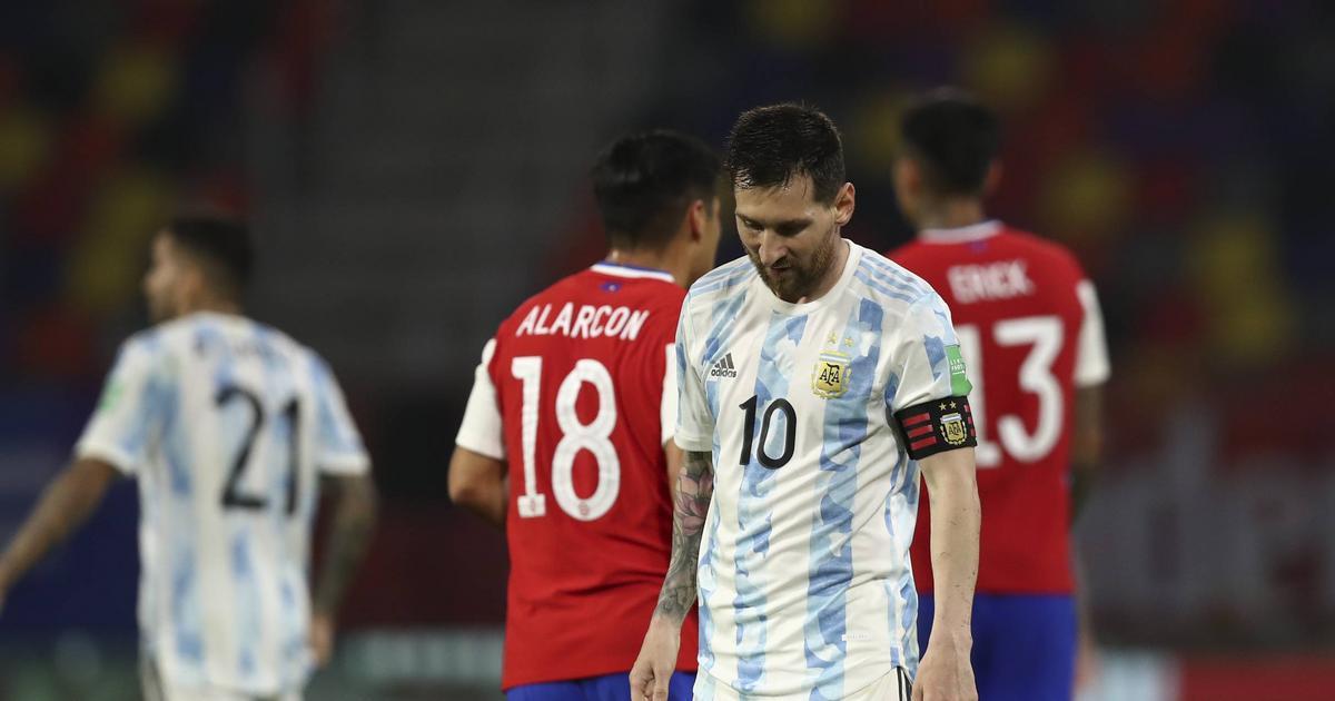 Argentina tappade poäng i VM-kvalet