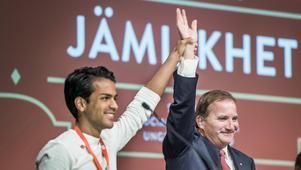 SSU-ordföranden Philip Bodström föll direkt in i den påbjudna retoriken. Allt för makten.