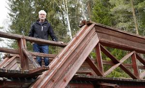 Ulf Swedh kämpar för att Subbackbron ska överleva och upplever att dess kulturhistoriska värde försummas.