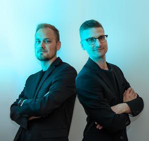 Designduon Nordiq, Johan Vilestål och John Eriksson. Pressbild