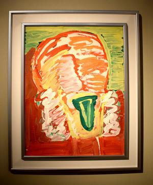"""En parafras på Munchs """"Skriet""""."""