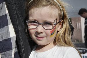 Ilon och föräldrarna skulle dock inte se själva matchen utan nöjde sig med aktiviteterna på Stortorget.