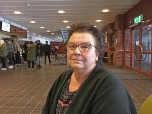 Eva Lindkvist säger att eleverna har många saker på gång.