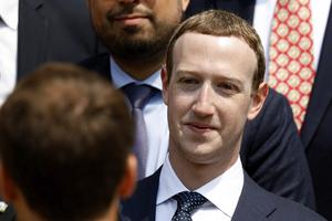 Mark Zuckerberg, vd för Facebook. Foto: Charles Platiau/TT/AP
