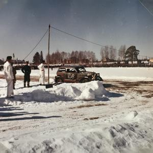 Stock Car lockade många åskådare i slutet på 50-talet.